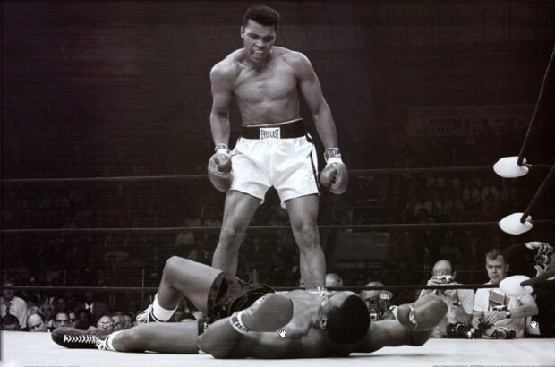 5. Muhammad Ali vs Sonny Liston, 1965