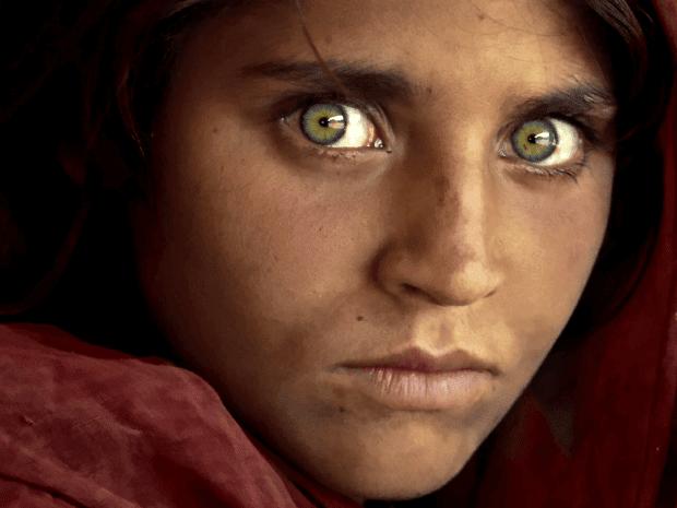7. Niña afghana, 1984