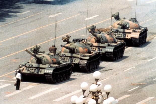 8. Tiananmen Square, 1989