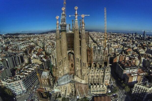 Catedral de la Sagrada Familia, España