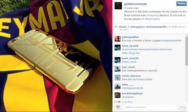 Celular de Neymar