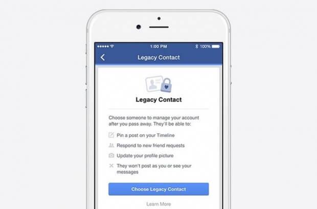 Facebook dejará que heredes tu cuenta al morir 1