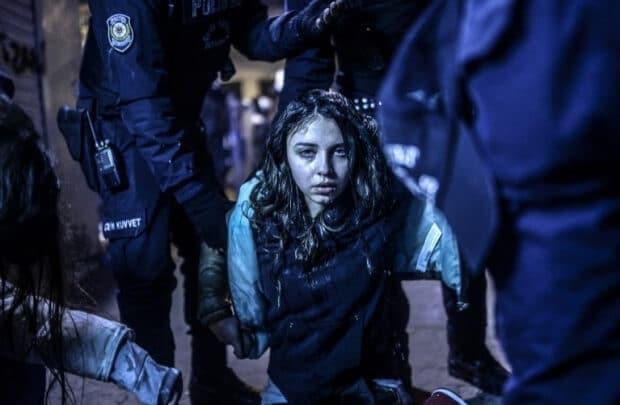 Istanbul Protest de Bulent Kilic