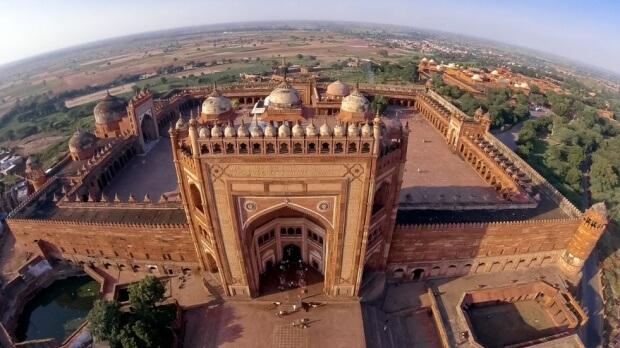 Palacio de Fatehpur Sikri, India