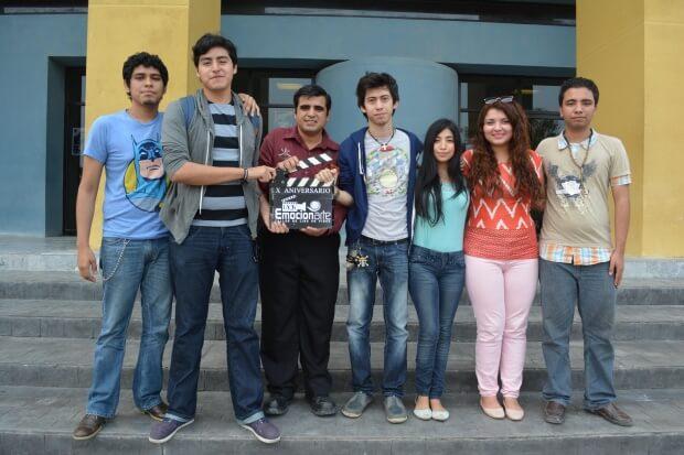 Foto 2 Alumnos taller cine uacjs uat