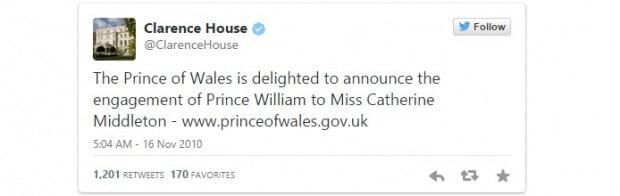 príncipe Guillermo se comprometió con su novia Kate Middleton.