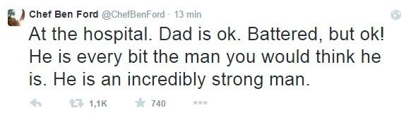 Twitt avioneta Harrison Ford