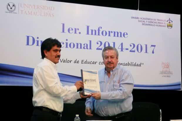 Constató Rector logros académicos y de vinculación de Trabajo Social UAT 2